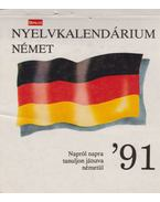 Nyelvi kalendárium - német '91