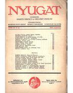 Nyugat 1935 XXVIII. évf. 9.szám