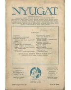 Nyugat 1926. augusztus 16.