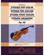 Etűdök hegedűre második hegedű kíséretével Op. 68