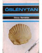 Őslénytan - Géczy Barnabás