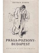 Prága-Pozsony-Budapest - Kovács Endre