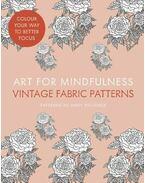 Art of Mindfulness - Vintage Fabric Patterns - PACIOREK, ANDREW (illustrator)