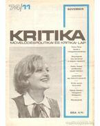 Kritika 74/11 - Pándi Pál