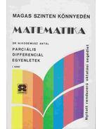Matematika - Parciális differenciál egyenletek