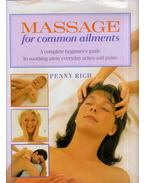 Massage for common ailments - Penny Rich