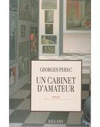Un cabinet d'amateur - Perec, Georges