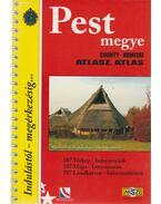Pest megye atlasz 1:20000