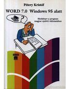 Word 7.0 Windows 95 alatt - Pétery Kristóf