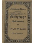 Petrographie - Bruhns, W