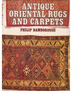 Antique Oriental Rugs and Carpets - Philip Bamborough
