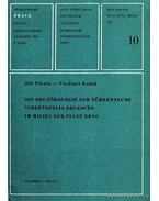 Die Brutökologie der Türkentaube Streptopelia Decaocto in Milieu der Stadt Brno - Pikula, Jirí, Kubík, Vladimír