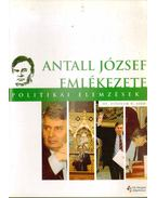Politikai elemzések III. évf. 6. szám - Antall József emlékezete
