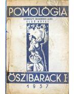 Pomológia I. - Őszibarack I.