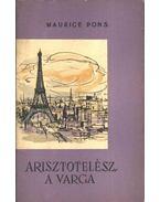 Arisztotelész, a varga - Pons, Maurice