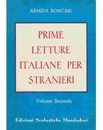 Prime letture italiane per stranieri