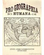 Pro Geographia Humana - Probáld Ferenc