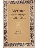 Prosper Mérimée összes regényei és elbeszélései