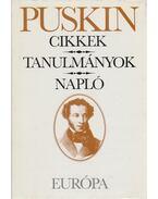 Cikkek / Tanulmányok / Napló - Puskin, Alekszandr Szergejevics
