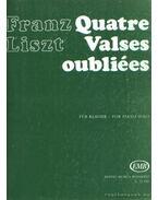 Négy elfelejtett keringő (Quatre Valses oubliées) (zongora)