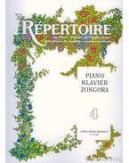 Répertoire zeneiskolásoknak - zongora 4