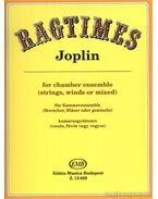 Ragtimes (kamaraegyüttesre - partitúra és szólamok)