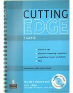 Cutting Edge Starter Teacher's Resource book - Redston, Chris, Cunningham, Sarah, Moór Péter
