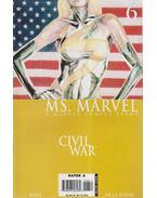 Ms. Marvel No. 6. - Reed, Brian, Roberto De La Torre
