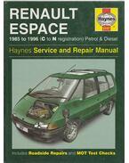Renault Espace 1985 to 1996 (C to N registration) Petrol & Diesel