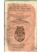 Rerum Ungaricarum decades quatuor cum dimidia