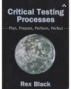 Critical Testing Processes - Rex Black