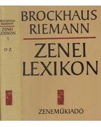 Zenei lexikon harmadik kötet O-Z - Riemann, Brockhaus