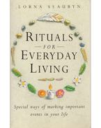 Rituals for Everyday Living