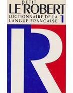 Le Petit Robert 1.