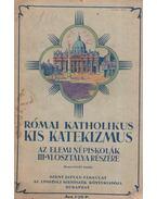 Római katholikus kis katekizmus