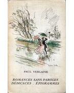 Romances sans paroles / Dédicaces / Épigrammes