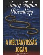 A méltányosság jogán - Rosenberg, Nancy Taylor