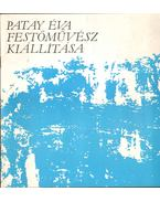 Patay Éva festőművész kiállítása (aláírt) - Salamon Nándor
