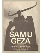Samu Géza szobrászművész kiállítása