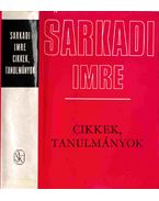 Cikkek, tanulmányok - Sarkadi Imre