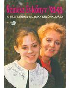 Színész Évkönyv '92-93 (dedikált) - Sas György