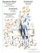 Szaxofonmuzsika kezdők számára (alt- vagy tenorszaxofonra, zongorakísérettel)