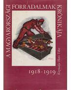 A magyarországi forradalmak krónikája 1918-1919