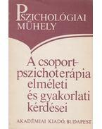 A csoport-pszichoterápia elméleti és gyakorlati kérdései