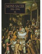 Mons Sacer 996-1996 III.