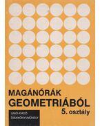 Magánórák geometriából – 5. osztály