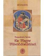 Kis magyar művelődéstörténet