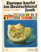 Europa kocht im Deutschland funk - Scharfenberg, Horst