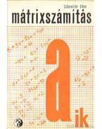 Mátrixszámítás - Scharnitzky Viktor