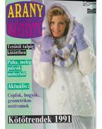 Arany Kötőtű 1991. 1. szám - Scherz Ágnes (szerk.)